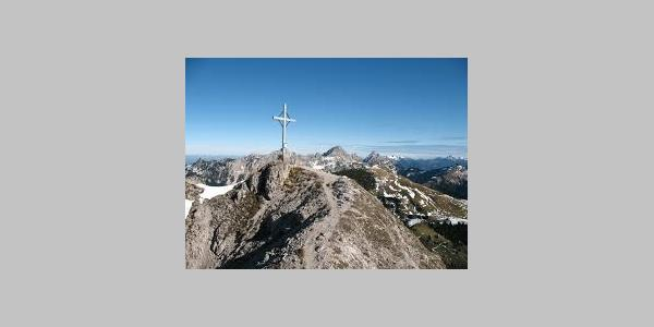 Gipfel Litnisschrofen