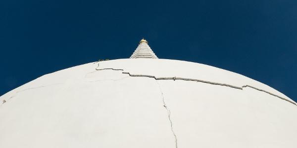 Die Stupa in Zalaszántó