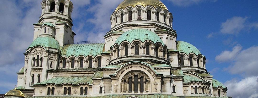 Die Alexander-Newski-Kathedrale in Sofia
