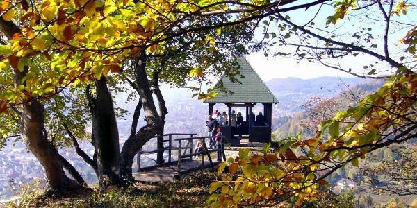 Schleicherhütte Traufgang Schlossfelsenpfad