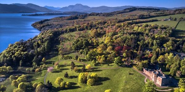 Balloch Castle and Loch Lomond