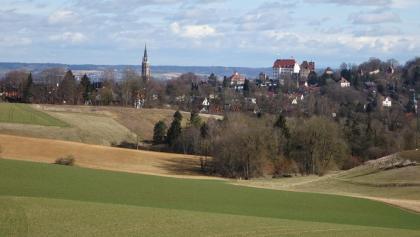 Landshut von Aign nach dem ersten Anstieg
