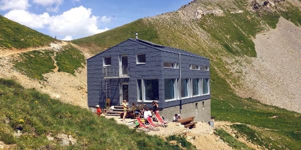 Berghütte Cabane Fenestral