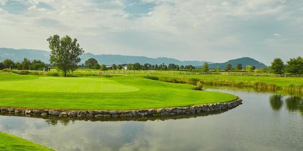 Golfpark Montfort Rankweil Loch 14