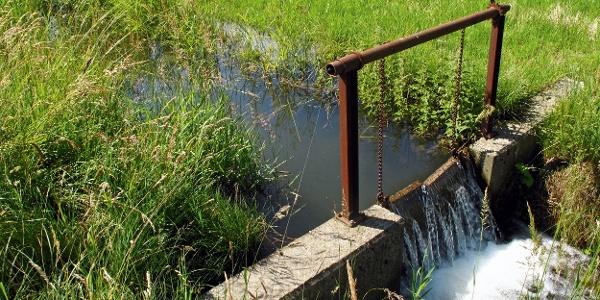 Wasserkanal bei den Wässermatten.