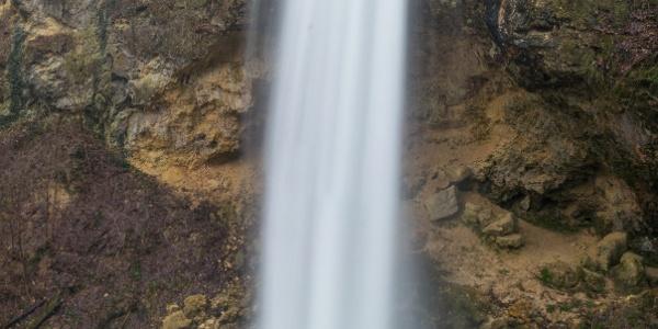 A Szinva vízesése nagy vízhozamnál