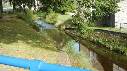 Het riviertje de Houille in Gedinne