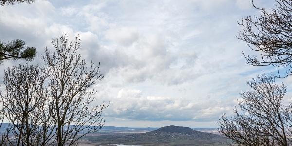 Aussicht vom Aussichtspunkt in Tördemic