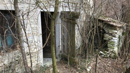 Vecchia costruzione nella località fantasma di Fumegai