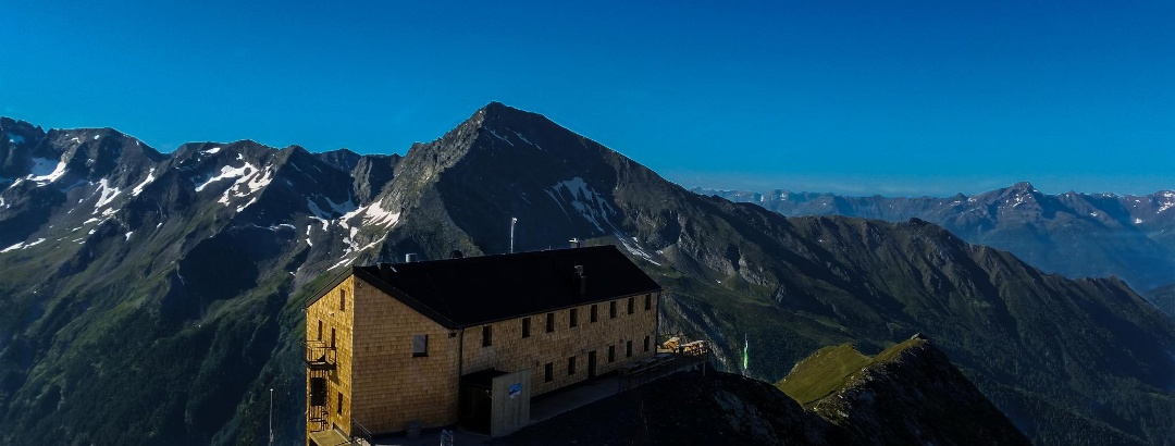 Blick von der Bergstation