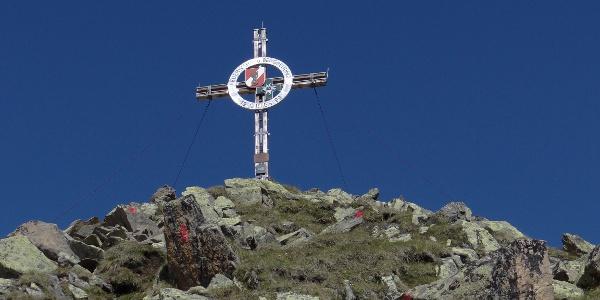 Gipfelkreuz des Vorderen Sulzkogel