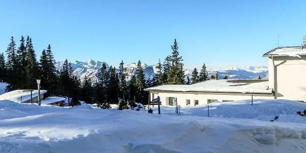Die Bergstation der Predigtsuhlbahn