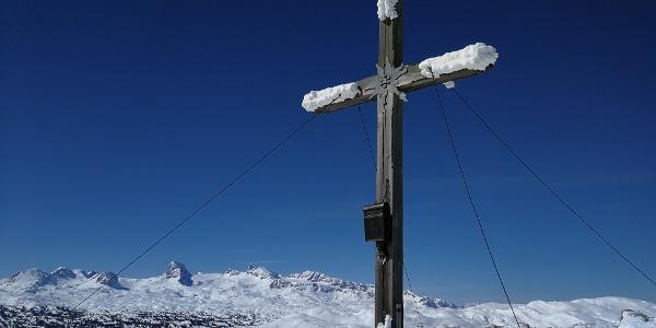 Hirzberg 2.051 m - mit Blick nach Westen zum Hohen Dachstein