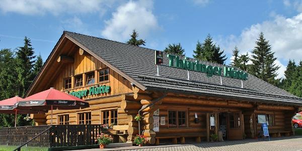 Thüringer Hütte am Grenzadler bei Oberhof