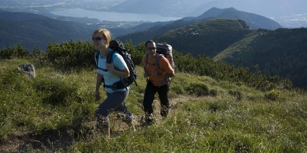 Hirschberg - Blick vom Gipfel