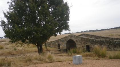 Römische Brücke auf dem Weg nach Caceres