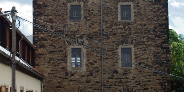 Abraham shaft - Hoisting house