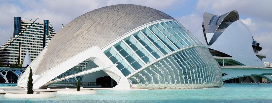 Valencia ist für seine moderne Architektur bekannt.