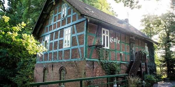 Wassermühle auf dem Hof Heesen in Wulsbüttel