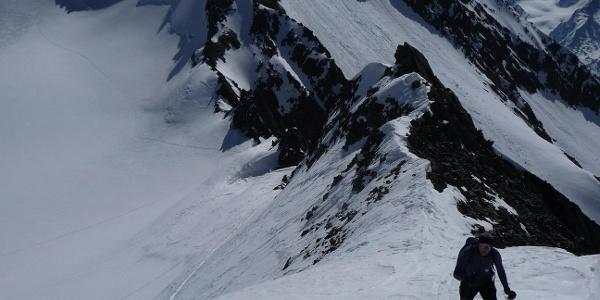 Blick gegen Osten zur Wildspitze 3768m