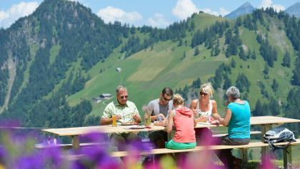 Mittagessen auf der Alp