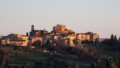 Vista del Castello da nord