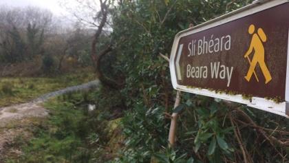 Start of Beara Way from Adrigole