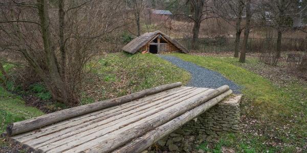 A földbe mélyesztett vaskori műhely