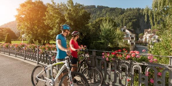 E-Bike Fahrt durch Bad Ragaz