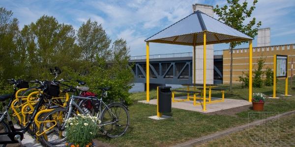 Radlerparkplatz Hohenwarthe