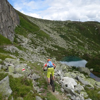 Urschner Höhenweg Uri Gotthard Andermatt Bike Panorama