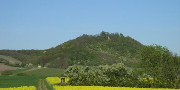 Ausblick über Felder
