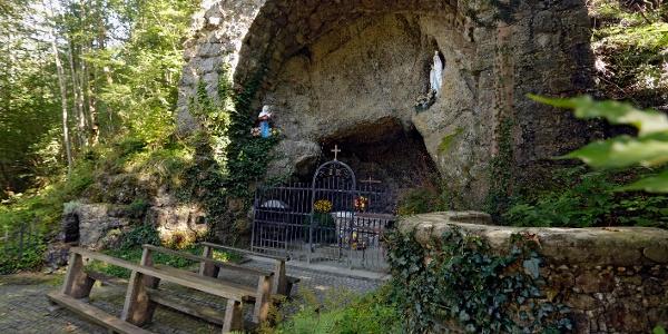 Lourdes Grotte in Marbach