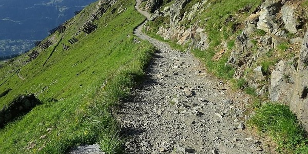 Weg zur Wormser Hütte