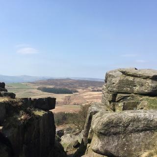 Path in rock