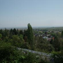 Panoramablick am Ende der Tour