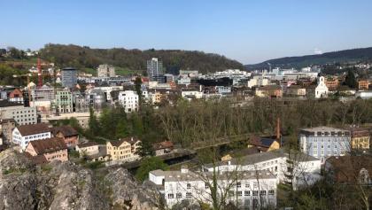 Blick auf die Altstadt von Baden