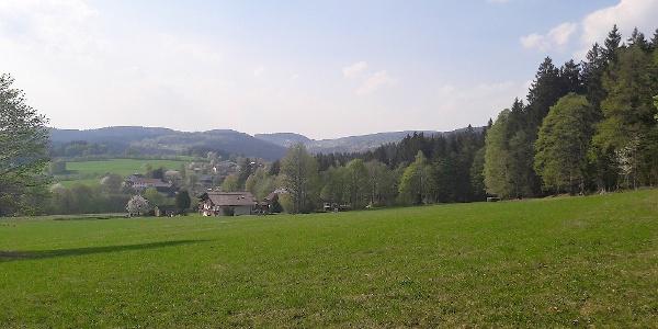 Blick von Loderwinkl nach St. Englmar