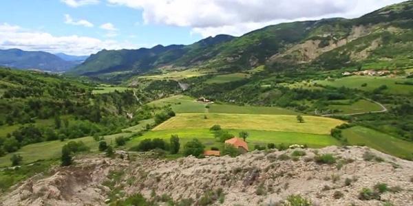 Les Chemins du Soleil de Valence - Gap à Sisteron