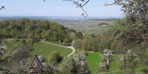 Ausblick von der Löwensteiner Platte