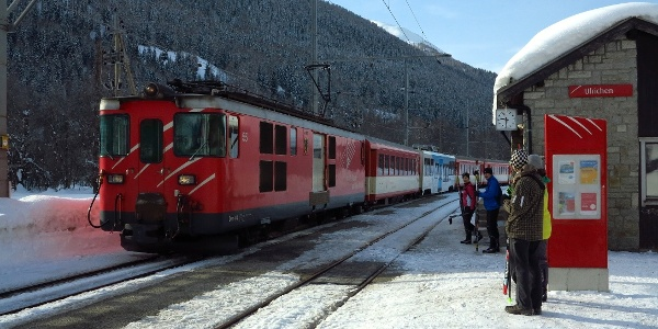 Bahnhof Ulrichen.