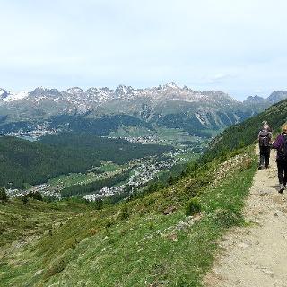 Höhenweg Alp Languard – Muottas Muragl.