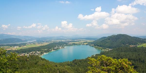 Der Ausblick von der neuen Aussichtsplattform am Kitzelberg