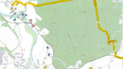 Umleitung Thümmlitzwald