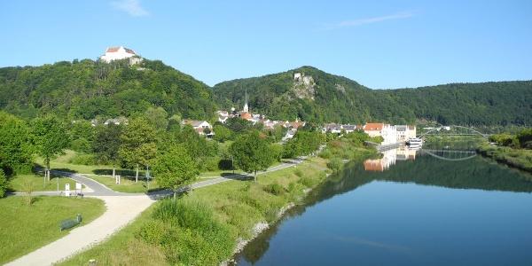 Drei-Burgen-Stadt Riedenburg im Altmühltal