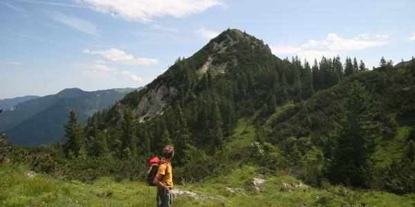 Blick zurück zum Schildenstein