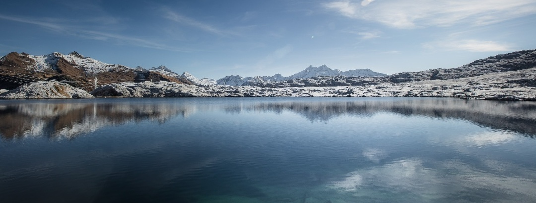 Lake on the Grimsel pass