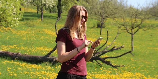 Unterwegs im Naturschutzgebiet – mit dem Handy als Audioguide