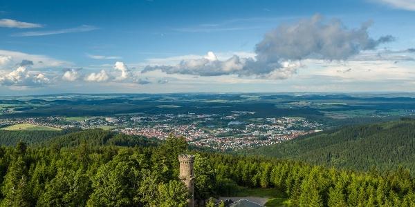 Kickelhahn oberhalb von Ilmenau