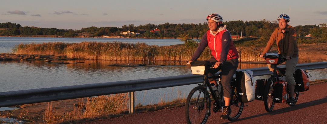 Radfahren auf den Åland Inseln